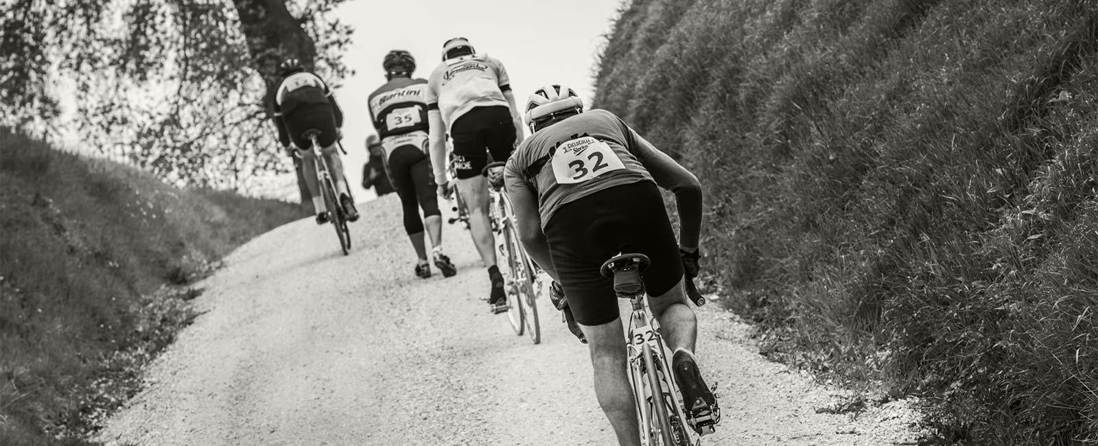 CicloColli Storica cicloturistica con bici storiche e gravel bike a Tolentino - Macerata